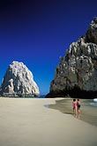 couple walking stock photography | Mexico, Cabo San Lucas, El Arco, Land