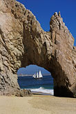 the end stock photography | Mexico, Cabo San Lucas, El Arco, Land