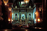 roman catholic church stock photography | Mexico, San Miguel de Allende, Interior, La Parroquia church, image id 4-262-11