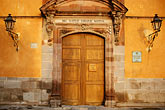 doorway stock photography | Mexico, San Miguel de Allende, Casa de Allende, Birthplace of Ignacio Allende., image id 4-272-25