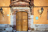 doorway stock photography | Mexico, San Miguel de Allende, Casa de Allende, Birthplace of Ignacio Allende., image id 4-272-29