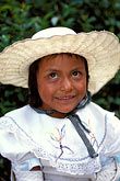 hat stock photography | Mexico, San Miguel de Allende, Young girl from nearby San Ildefonso , image id 4-290-23