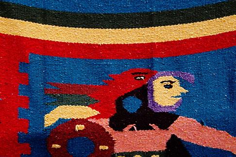 image 4-850-2753 Mexico, Riviera Maya, Weaving