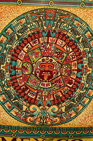 image 4-850-2768 Mexican art, Aztec Calendar