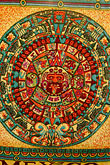 colour stock photography | Mexican art, Aztec Calendar, image id 4-850-2768