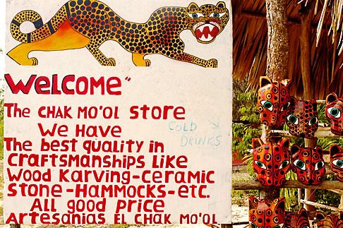image 4-850-2823 Mexico, Riviera Maya, Chak Mool store