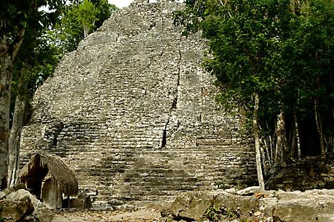 image 4-850-2833 Mexico, Yucatan, Coba, La Iglesia