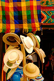 souvenir vendor stock photography | Mexico, Yucatan, Hats, image id 4-850-2899