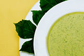 garnish stock photography | Mexican Food, Cream of chaya soup, image id 4-850-3775