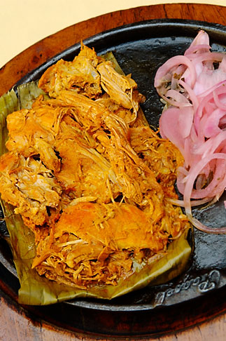 image 4-850-3800 Mexican Food, Cochinita Pibil, Axiote marinated pork