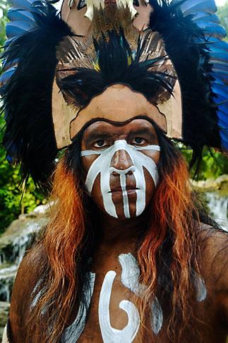 image 4-850-3820 Mexico, Riviera Maya, Xcaret, Folkloric show