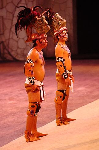 image 4-850-3852 Mexico, Riviera Maya, Xcaret, Folkloric show