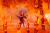 perform stock photography | Mexico, Riviera Maya, Xcaret, Folkloric show, image id 4-850-3864