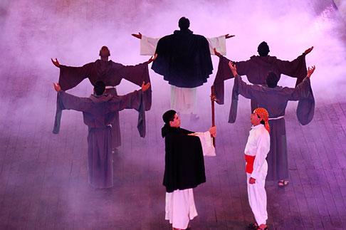image 4-850-3873 Mexico, Riviera Maya, Xcaret, Folkloric show
