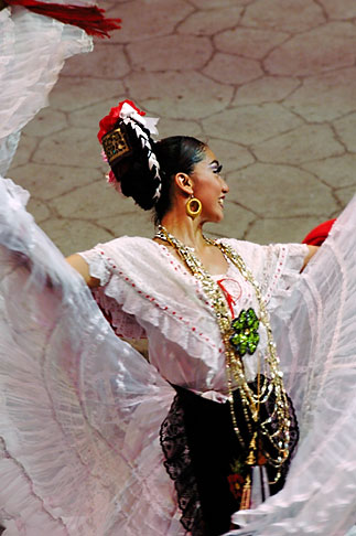 image 4-850-3908 Mexico, Riviera Maya, Xcaret, Dancer