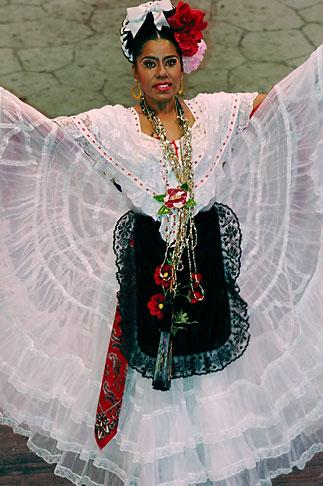 image 4-850-3918 Mexico, Riviera Maya, Xcaret, Folkloric show