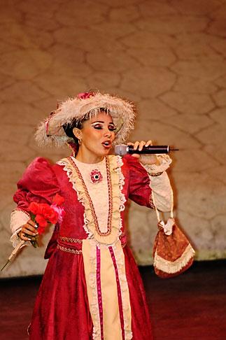 image 4-850-3938 Mexico, Riviera Maya, Xcaret, Folkloric show