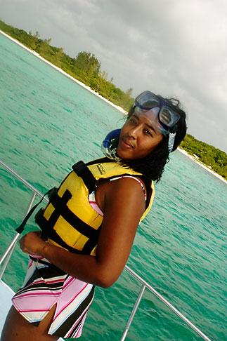 image 4-850-4900 Mexico, Riviera Maya, Playa Maroma, snorkeling boat trip