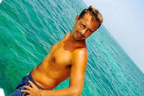image 4-850-4915 Mexico, Riviera Maya, Playa Maroma, snorkeling boat trip