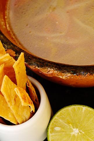 image 4-850-5101 Mexico, Riviera Maya, Sopa de Limon tradicional