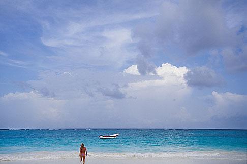 image 4-885-71 Mexico, Yucatan, Tulum, Beach