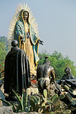 devotion stock photography | Mexico, Mexico City, Statue of the Virgin of Guadalupe, Tepeyac, image id 5-23-25
