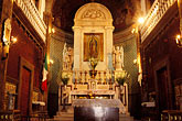 interior of church stock photography | Mexico, Mexico City, Interior, Iglesia del Cerrito, Tepeyac, image id 5-23-9