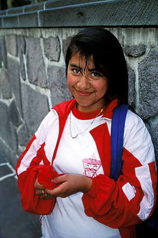 image 5-24-31 Mexico, Mexico City, Young woman