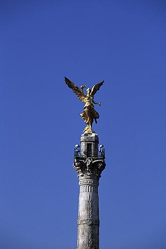 image 5-50-2 Mexico, Mexico City, Angel of Independence, Paseo de la Reforma
