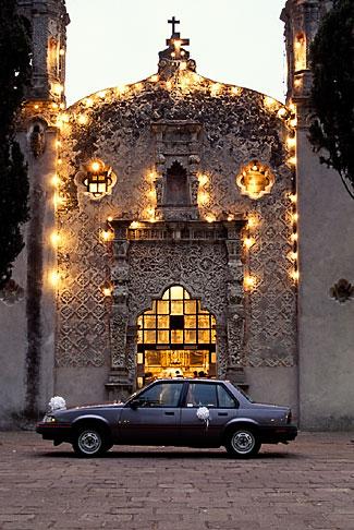 image 5-51-29 Mexico, Mexico City, Wedding, Capilla de la Concepcion, Coyoacan