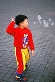 coyoacan stock photography | Mexico, Mexico City, Boy playing with bubbles, Coyoac‡n, image id 5-63-25