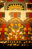 painting stock photography | Mexico, Mexico City, Design from Teotihuacan, Museo de Anthropologia , image id 5-80-5