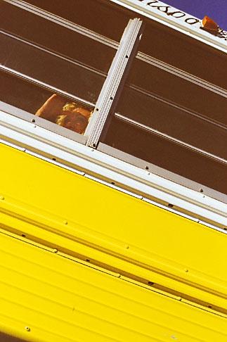 image S4-235-1 Mexico, Tijuana, Bus Passenger