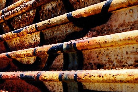 image S4-235-17 Mexico, Tijuana, Mexico USA Border fence