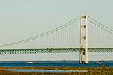 horizontal stock photography | Michigan, Mackinac, Mackinac Bridge, image id 4-940-6016