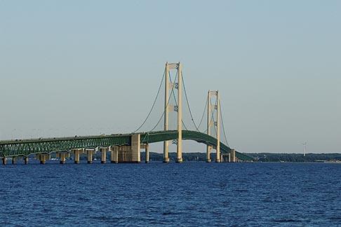 image 4-940-6056 Michigan, Mackinac, Mackinac Bridge