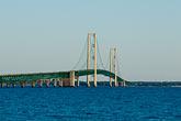 horizontal stock photography | Michigan, Mackinac, Mackinac Bridge, image id 4-940-6056