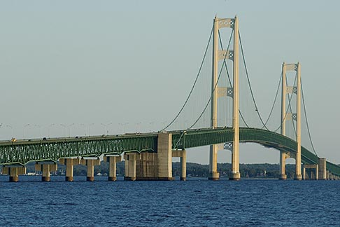 image 4-940-6058 Michigan, Mackinac, Mackinac Bridge