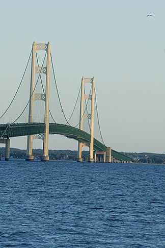 image 4-940-6071 Michigan, Mackinac, Mackinac Bridge