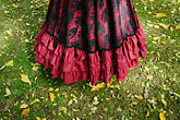 poise stock photography | Canada, Montreal, Victorian dress, image id 6-460-1698