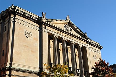 image 6-460-1745 Canada, Montreal, Masonic Memorial Temple