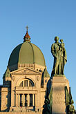 statue stock photography | Canada, Montreal, Mount Royal, Saint Joseph