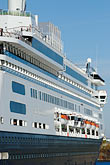 ocean liner stock photography | Canada, Montreal, Cruise ship at dock, image id 6-460-2026