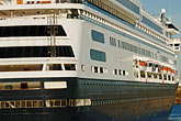 ocean liner stock photography | Canada, Montreal, Cruise ship at dock, image id 6-460-2029