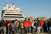anchorage stock photography | Canada, Montreal, Cruise ship at dock, image id 6-460-2037