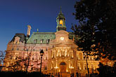 travel stock photography | Canada, Montreal, Hotel de Ville, image id 6-460-2146