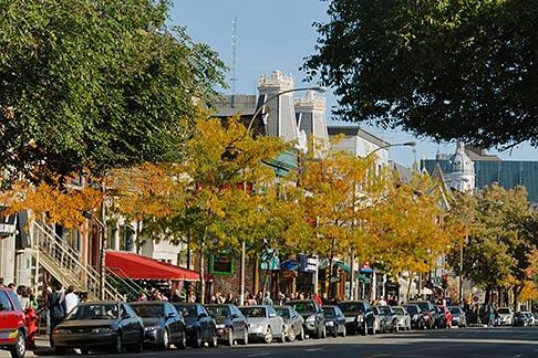 image 6-460-2246 Canada, Montreal, Rue St Denis, street scene