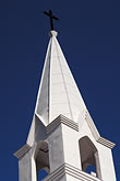 blue stock photography | Canada, Montreal, Church steeple, image id 6-460-7403