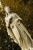 robe stock photography | Canada, Montreal, Mount Royal Cemetery, statue on tombstone, image id 6-460-7484