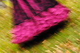 blurred stock photography | Canada, Montreal, Woman with Victorian dress, partial body view, motion blur, image id 6-460-7493